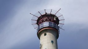 Eddystone Lighthouse Helipad royalty free stock photo