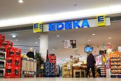 Edeka超级市场 免版税图库摄影