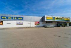 Edeka超级市场 Edeka小组是最大的德国超级市场公司 图库摄影