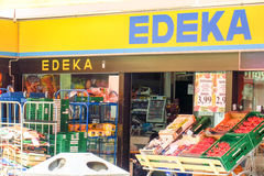 Edeka abstract Stock Photography