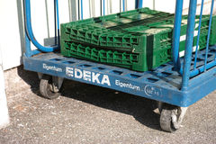 Edeka delivery Royalty Free Stock Photography