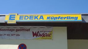 Edeka stock footage