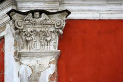 Edele ruïnes Stock Afbeeldingen