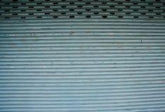 Edelstahl rollen oben Tür Stockfoto