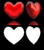 Edelstein-Herzen stock abbildung