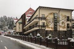 Edelvais Poiana Brasov do hotel Foto de Stock