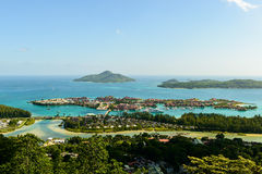 Edem island. Mahe Royalty Free Stock Photography