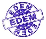 EDEM Stamp Seal texturisé grunge illustration libre de droits