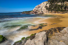 Ocean Seascape Foreshore. Rugged ocean foreshore at Eden New South Wales Stock Photo