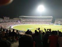 Eden Garden Stadium Kolkata Royaltyfri Bild