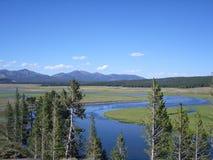 Eden garden in Yellowstone stock photos