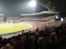 Eden Gardens Stadium From Inside Royaltyfri Bild