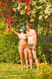 Eden-Garten Lizenzfreie Stockbilder