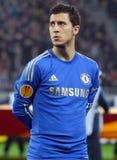 Eden Hazard av Chelsea London Royaltyfri Fotografi