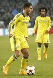 Eden Hazard FC Schalke v FC Chelsea 8eme Final Champion League Royalty Free Stock Photo