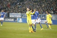 Eden Hazard FC Schalke v FC Chelsea 8eme Final Champion League Stock Images
