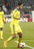 Eden Hazard FC Schalke v FC Chelsea 8eme Final Champion League Stock Photo
