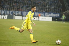 Eden Hazard FC Schalke v FC Chelsea 8eme Final Champion League Stock Photography