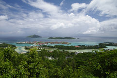 Eden Island near Victoria, Seychelles Royalty Free Stock Image