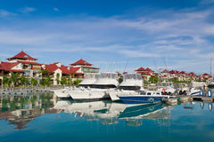 Eden island, Seychelles Stock Photos