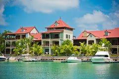 Eden Island, Seychelles Royalty Free Stock Photo