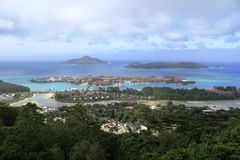 Eden island , Seychelles Islands Royalty Free Stock Photo