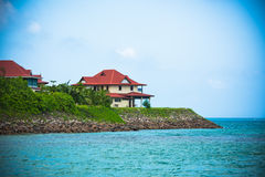 Eden Island, Seychelles Stock Images
