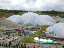 The Eden Project. The Biomes Stock Photos