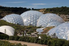 Eden Project. The eden project in cornwall, England Stock Photo