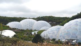 Eden Project Biodomes Cornwall Tom Wurl photographie stock