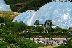 Eden Project Biomes 1 Royalty Free Stock Images