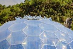 Eden Project Bodelva, Cornwall, England Arkivbilder