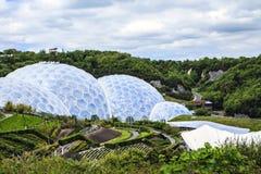 Eden Project Bodelva, Cornwall, England Royaltyfri Bild