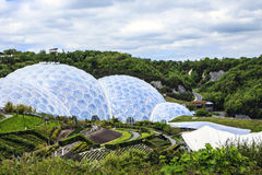 Eden Project, Bodelva, Cornwall, England. Royalty Free Stock Image
