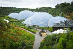Eden Project, Cornwall stockbilder