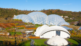 Eden Project Cornwall. Biomes at the Eden Project near St Austell Cornwall England UK Royalty Free Stock Image