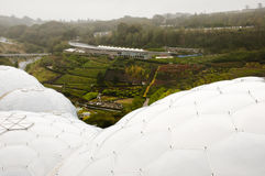 Eden Project - Cornwall - England Royalty Free Stock Photography
