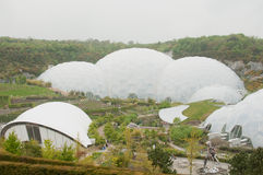 Eden Project Domes Royalty Free Stock Photography