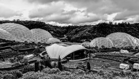 Eden project. Domes Stock Photos