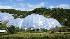 Eden Project in St Austell Cornwall Lizenzfreies Stockfoto