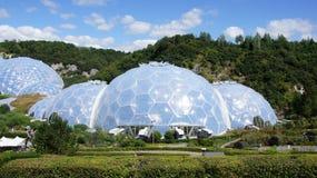 Eden projekt w St Austell Cornwall Zdjęcie Royalty Free