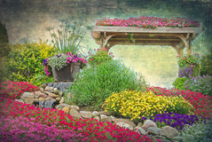 eden trädgård royaltyfria bilder