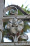 eden trädgårds- port till Arkivbilder