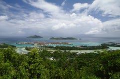 Eden wyspa blisko Wiktoria, Seychelles Obraz Royalty Free