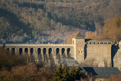 Edersee dam Royalty Free Stock Images