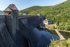 Edersee dam germany Royalty Free Stock Photo