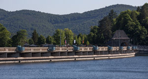 Edersee dam germany Royalty Free Stock Image