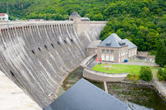 Edersee dam Germany Royalty Free Stock Images