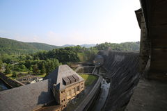 Edersee Dam Power Station Royalty Free Stock Images