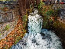 Edessa waterfall, Macedonia, Greece Royalty Free Stock Photos